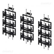 ADAPTA-WALL VIDEO WALL STRUCTURES