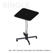 SINGLE COLUMN STAND & TROLLEY RANGE