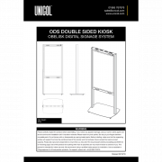 ODS Series - Double-Sided Kiosk