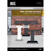 Rhobus Twin Screen Stands & Trolleys