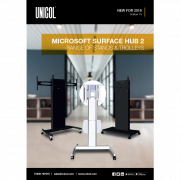 Microsoft Surface Hub Trolley Range Brochure