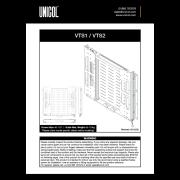 VertiSlide Range (VTS1 & VTS2)
