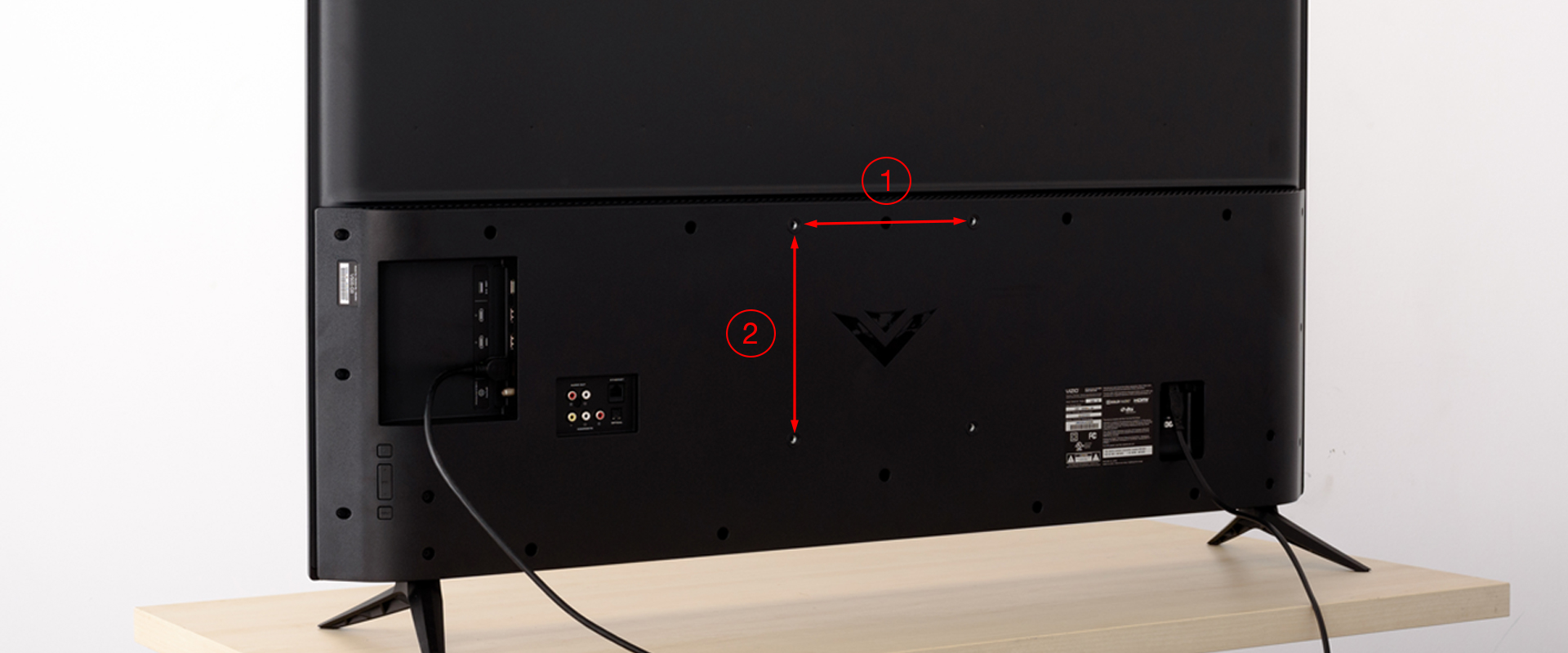 VESA FIXINGS   FOR THOSE WHO DON'T KNOW