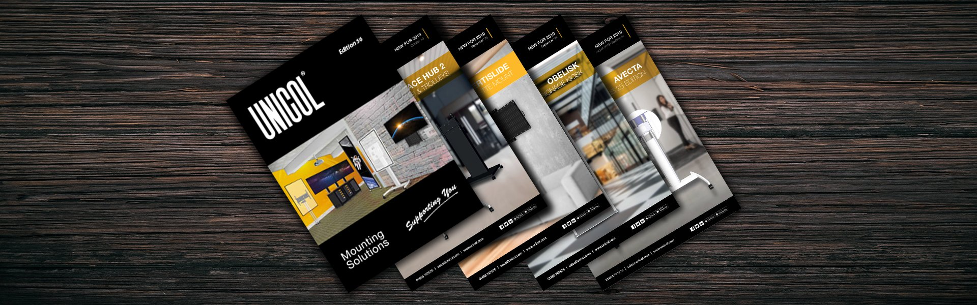 unicol catalogue and product brochures available online